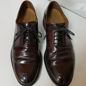 Cole Haan Split Toe Burgandy Dress Shoes